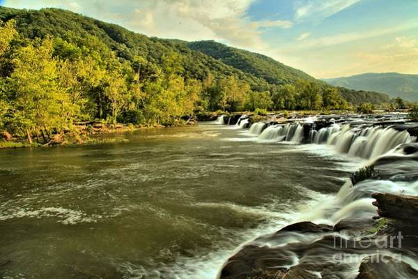Photograph - New River Landscape by Adam Jewell