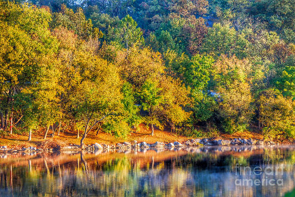 Radford Photograph - New River Reflections by Kerri Farley