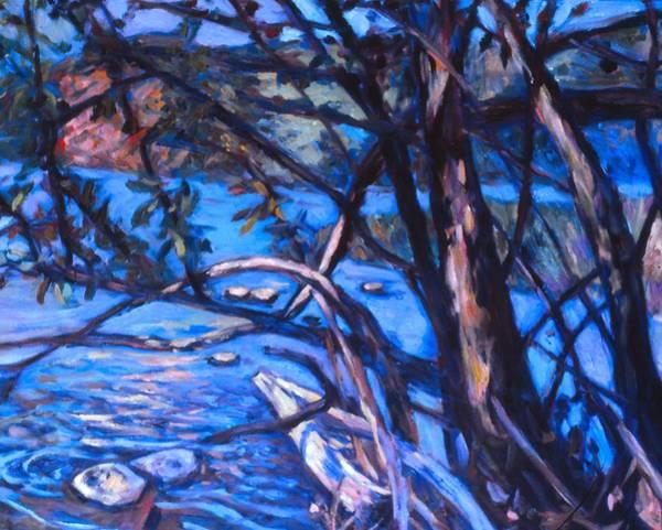 Painting - New River Scene by Kendall Kessler