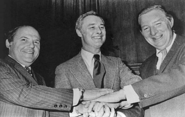 1976 Photograph - New Sf Giants Owners by Underwood Archives