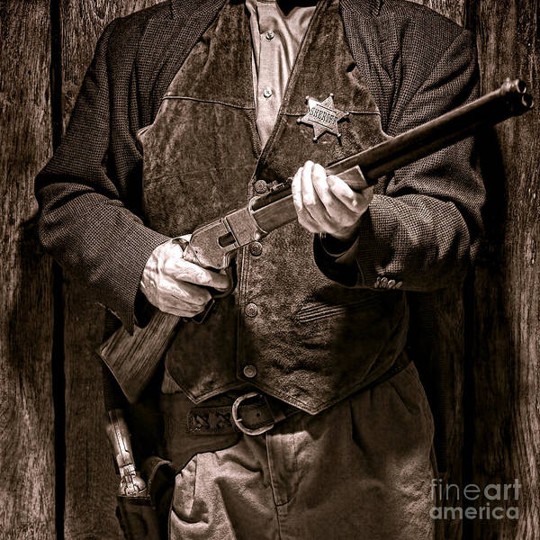 Wall Art - Photograph - New Sheriff In Town  by Olivier Le Queinec