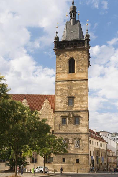 Photograph - New Town Hall Novomestska Radnice Prague by Matthias Hauser