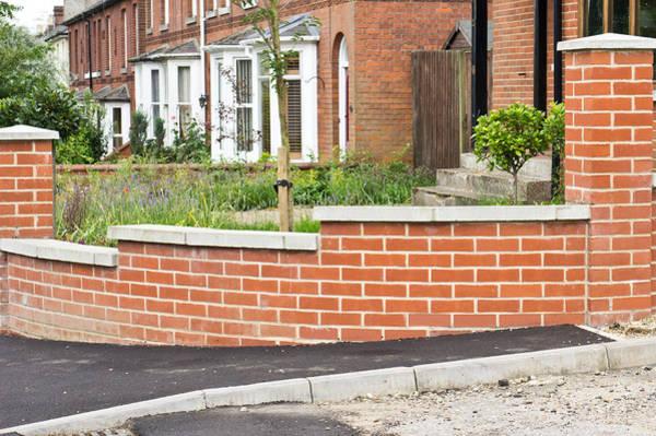 Boundaries Wall Art - Photograph - New Wall by Tom Gowanlock