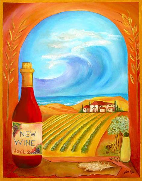 New Wine  Joel 2 Art Print