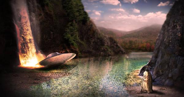 Adirondack Mountains Digital Art - New World Discovery by Michael Papa