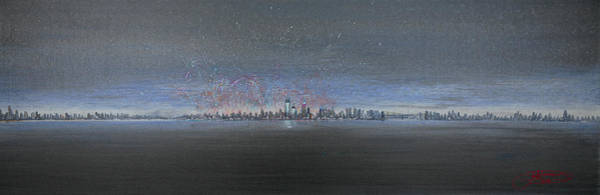 Painting - New Year New York 2013 by Jack Diamond