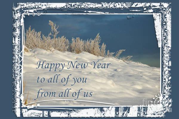 Photograph - New Year's Card by Randi Grace Nilsberg
