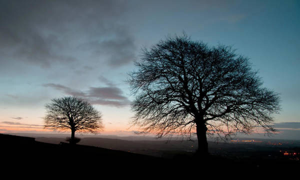 Photograph - New Years Dawn On Yarde Downs by Pete Hemington