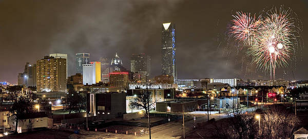 New Beginnings Photograph - New Years In Okc by Ricky Barnard