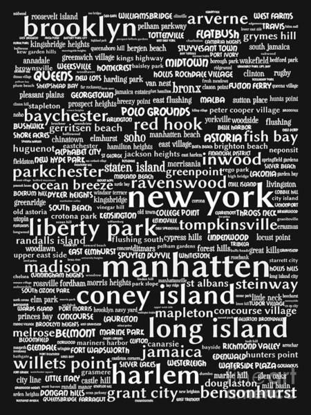 Big Island Digital Art - New York 20130709bw by Wingsdomain Art and Photography