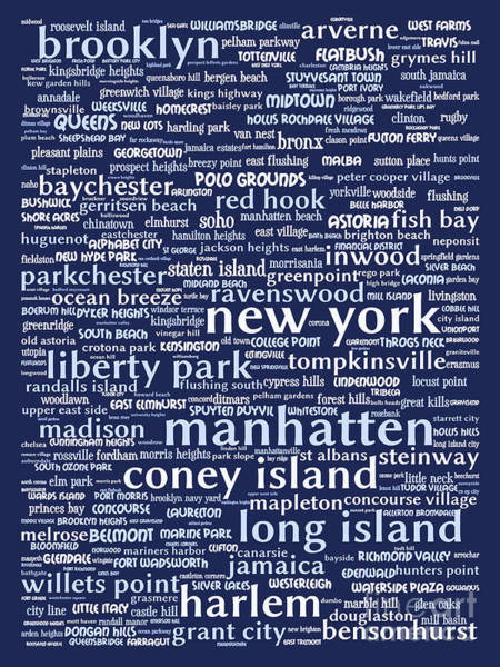 Big Island Digital Art - New York 20130709bwco80 by Wingsdomain Art and Photography