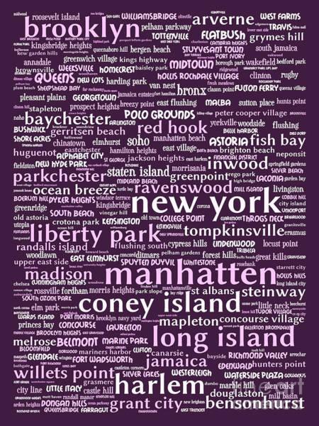 Big Island Digital Art - New York 20130709bwma by Wingsdomain Art and Photography