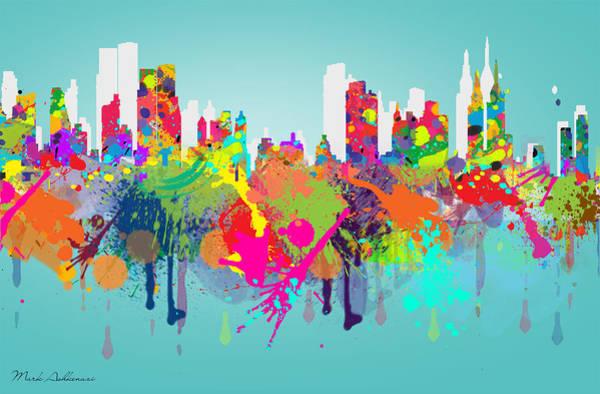 Wall Art - Painting - New York 7 by Mark Ashkenazi