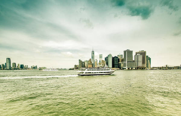 Photograph - New York And New Jersey by Nick Mares