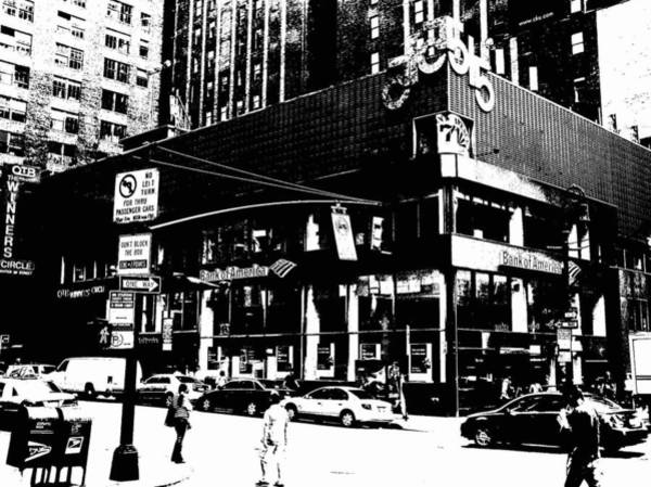 Photograph - New York City 7th Avenue by Cleaster Cotton