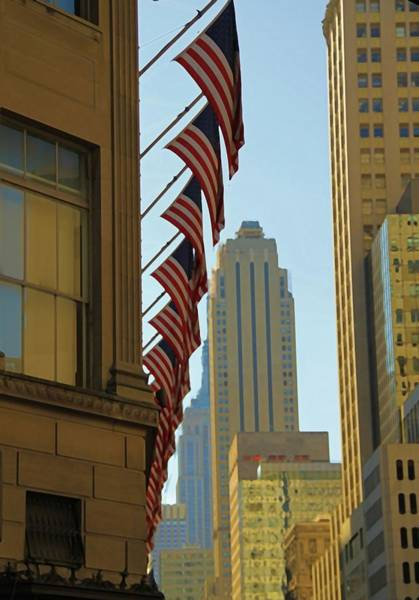 Wall Art - Photograph - New York City And American Pride by Dan Sproul