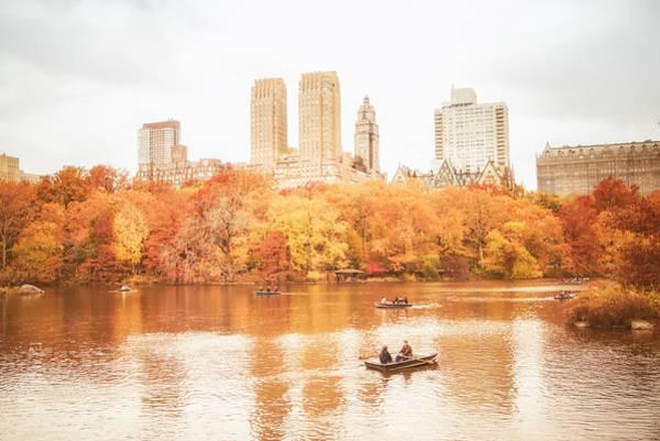 Wall Art - Photograph - New York City - Autumn - Central Park by Vivienne Gucwa