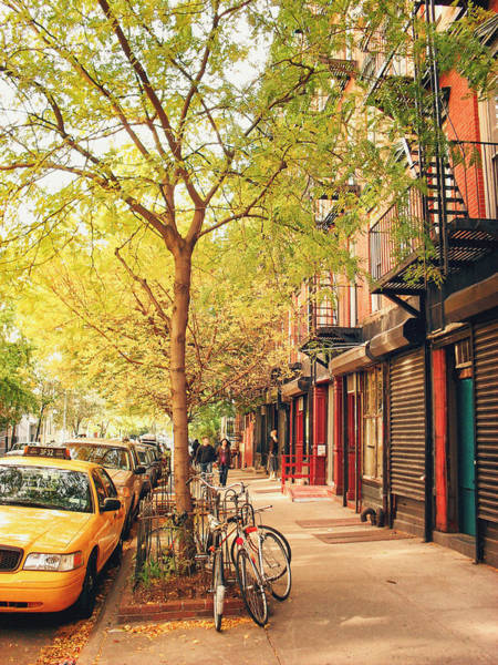 Wall Art - Photograph - New York City - Autumn In The East Village  by Vivienne Gucwa
