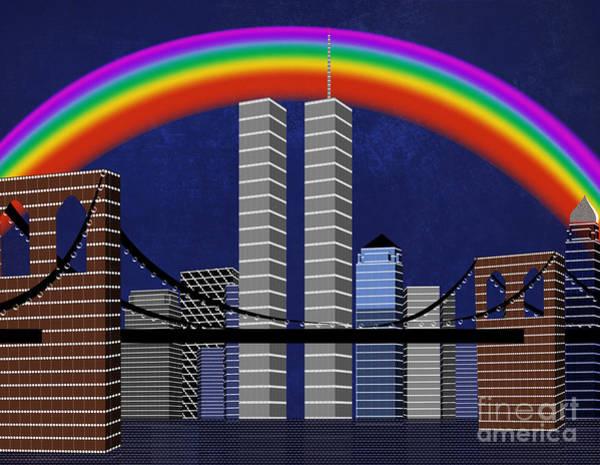 Digital Art - New York City Better Days 2 by Andee Design