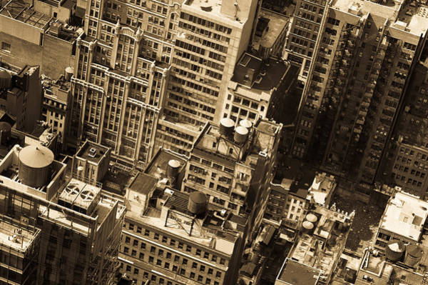Photograph - New York City Buildings by Gary Eason