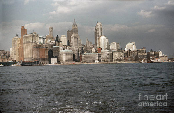 Photograph - New York City Circa 1958 by California Views Archives Mr Pat Hathaway Archives