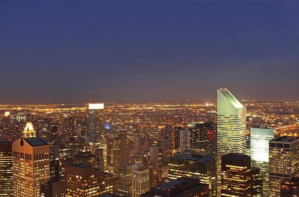 Photograph - New York City Citicorp Center by Juergen Roth
