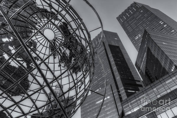New York City Columbus Circle Landmarks II Art Print