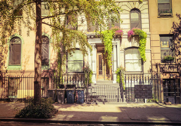 Wall Art - Photograph - New York City - East Village - Early Autumn by Vivienne Gucwa