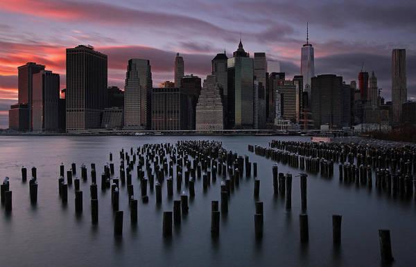 Photograph - New York City Fidi by Juergen Roth