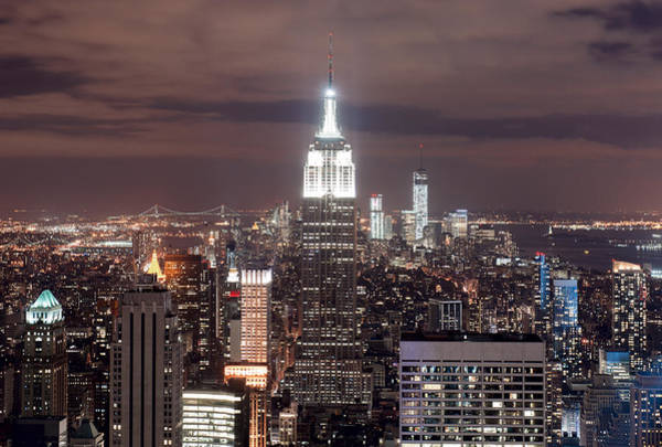 Photograph - New York City From Top Of The Rock by Rospotte Photography