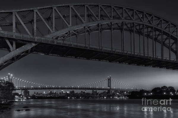 Photograph - New York City Hell Gate Bridges Iv by Clarence Holmes