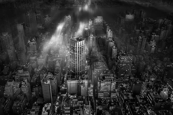 New York City Art Print by Leif L?ndal
