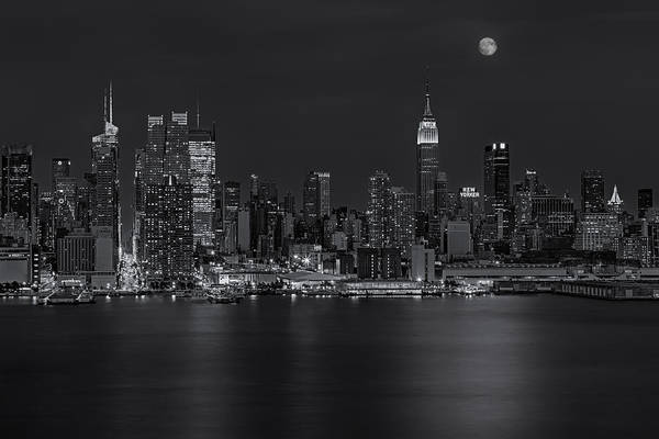 Photograph - New York City Night Lights by Susan Candelario