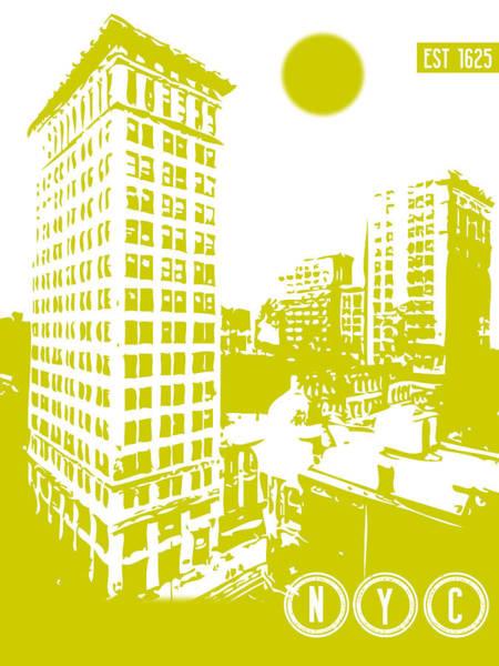 Digital Art - New York City Poster by Celestial Images