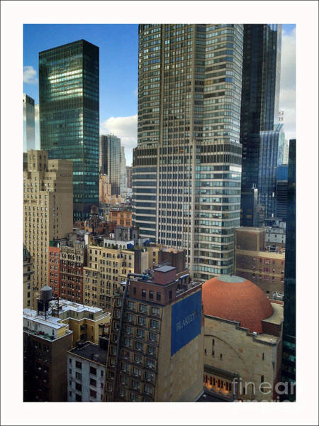 Wall Art - Photograph - New York City Rooftops by Iris Posner