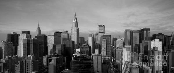 Chrysler Photograph - New York City Skyline by Diane Diederich