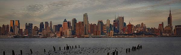 Photograph - New York City Skyline Panoramic by Susan Candelario