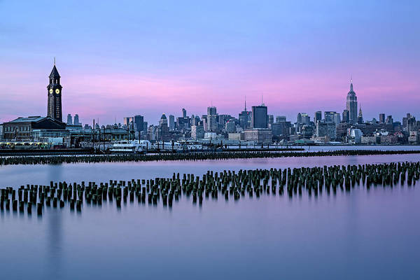 Photograph - New York City Skyline Stillness by Susan Candelario