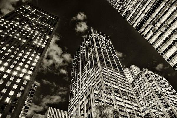Wall Art - Photograph - New York City Skyscrapers  by Paul Ward