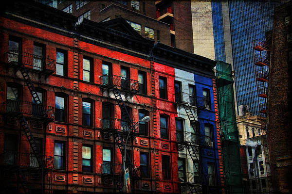 Photograph - New York City West Side by Evie Carrier