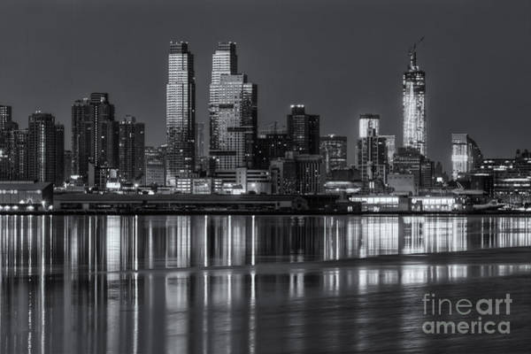 Photograph - New York City West Side Morning Twilight Iv by Clarence Holmes
