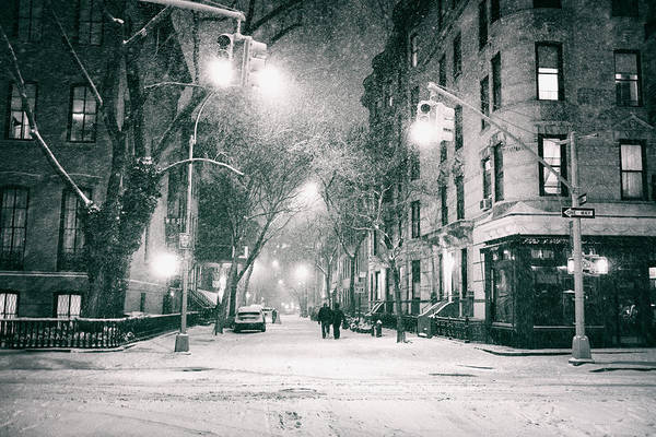 Sony Photograph - New York City - Winter Night In The West Village by Vivienne Gucwa