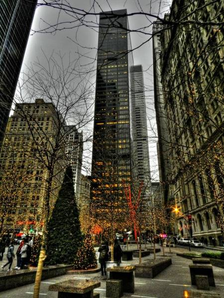 Photograph - New York City - Zuccotti Park 001 by Lance Vaughn