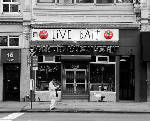 Photograph - New York Diner 2c by Andrew Fare