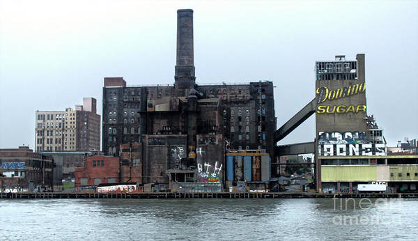 Photograph - New York Domino Sugar Factory by Gregory Dyer