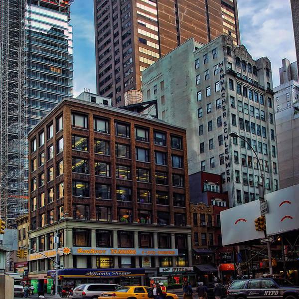 Blade Runner Photograph - New York Energy by New  York