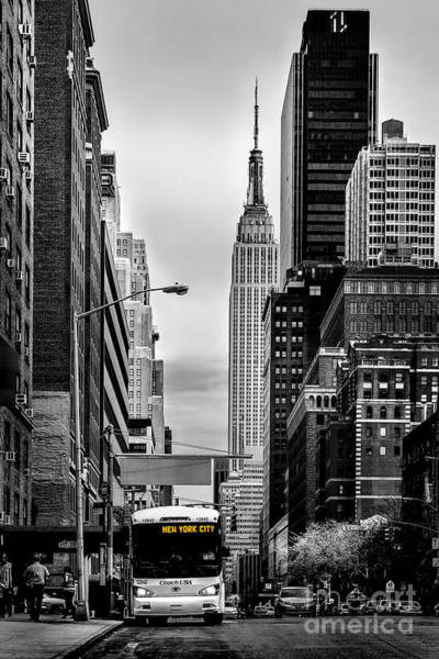 Parking Photograph - New York Express by Az Jackson