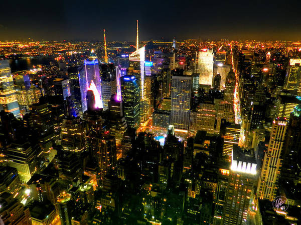 Photograph - New York - From The Empire State Building 003 by Lance Vaughn