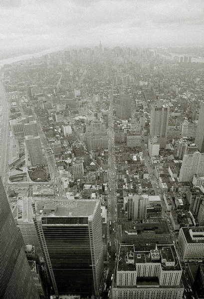 Photograph - New York From The Trade Towers by Shaun Higson