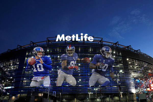 Giant Photograph - New York Giants Metlife Stadium by Joe Hamilton